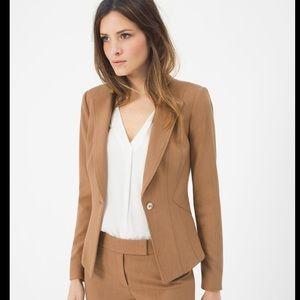 WHBM Heathered seasonless blazer jacket